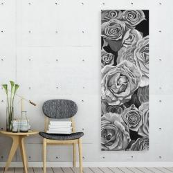 Toile 20 x 60 - Roses vintage