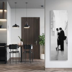 Canvas 20 x 60 - Couple in the street