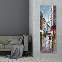 Canvas 20 x 60 - Paris street