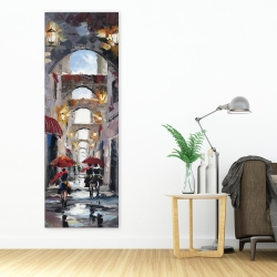 Canvas 20 x 60 - Alleys with arch