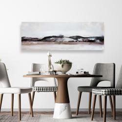 Toile 20 x 60 - Montagnes en aquarelle