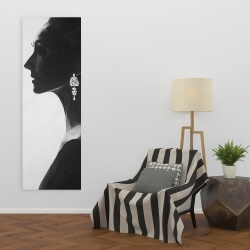 Toile 20 x 60 - Femme chic