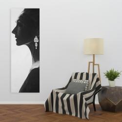 Canvas 20 x 60 - Chic woman