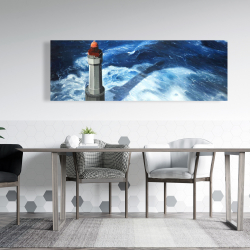 Canvas 20 x 60 - The headlight of jument