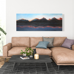 Canvas 20 x 60 - Mountains landscape