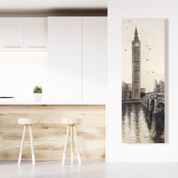 Canvas 20 x 60 - Big ben in london