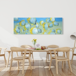 Canvas 20 x 60 - Butterfly fishes