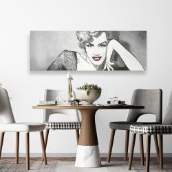 Canvas 20 x 60 - Vintage style marilyn monroe