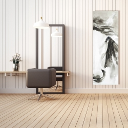 Canvas 20 x 60 - Beautiful abstract horse