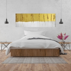 Canvas 20 x 60 - Golden stripe