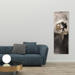 Canvas 20 x 60 - Abstract buffalo