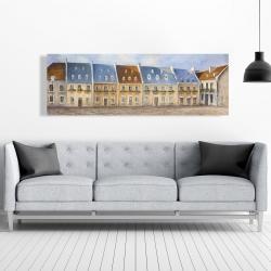 Canvas 20 x 60 - Old quebec city