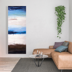 Canvas 20 x 60 - Colors of the beach