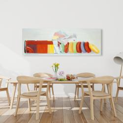 Canvas 20 x 60 - Colorful pastilles