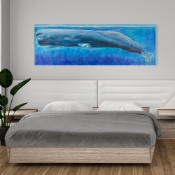 Canvas 20 x 60 - Sperm whale