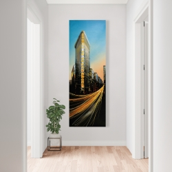 Canvas 20 x 60 - Flatiron building in light