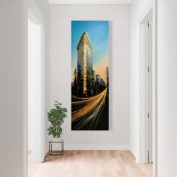 Canvas 20 x 60 - Flatiron building in light