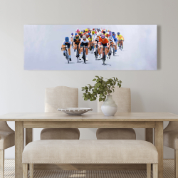 Canvas 20 x 60 - Cycling competition