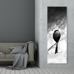 Canvas 20 x 60 - Four birds perched