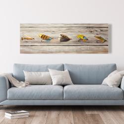 Canvas 20 x 60 - Fishing flies
