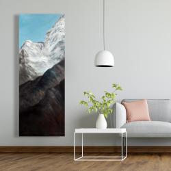 Canvas 20 x 60 - Emblematic himalayan peaks