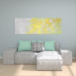 Toile 20 x 60 - érosion dorée