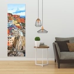 Canvas 20 x 60 - View of manarola in italy