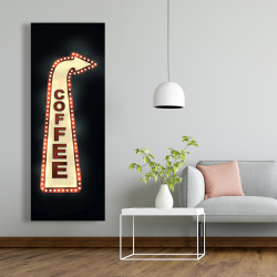 Canvas 20 x 60 - Coffee