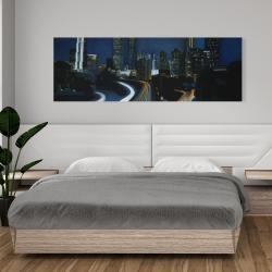 Canvas 20 x 60 - Atlanta at night