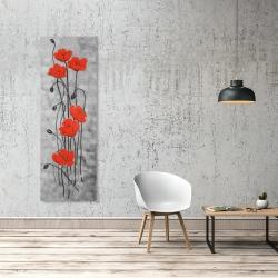 Canvas 20 x 60 - Long stem flowers