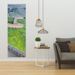 Canvas 20 x 60 - Great wall of china