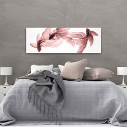 Canvas 20 x 60 - Red betta fish