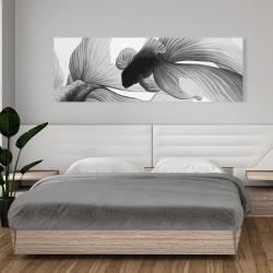 Canvas 20 x 60 - Monochrome two betta