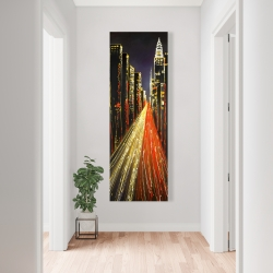 Canvas 20 x 60 - Lively city