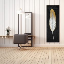 Canvas 20 x 60 - Golden feather