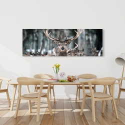 Canvas 20 x 60 - Stags