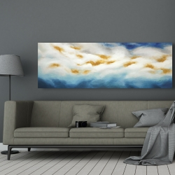 Canvas 20 x 60 - Abstract landscape