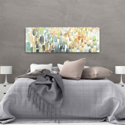 Canvas 20 x 60 - Cluster of circles