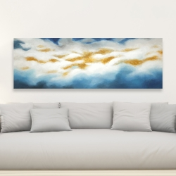 Canvas 20 x 60 - Abstract clouds