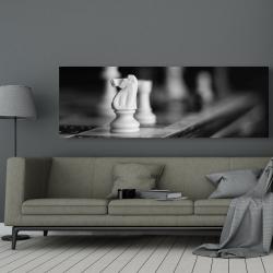 Canvas 20 x 60 - Monochrome chess games