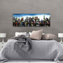 Canvas 20 x 60 - Colorful skyline