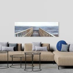 Canvas 20 x 60 - Relaxing beach