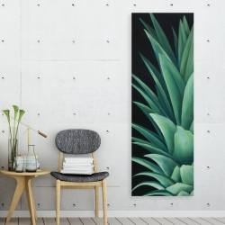 Canvas 20 x 60 - Pineapple leaves