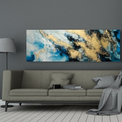 Canvas 20 x 60 - Blue marble