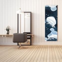 Canvas 20 x 60 - Jellyfishs