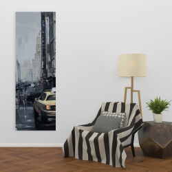 Canvas 20 x 60 - New york in the dark