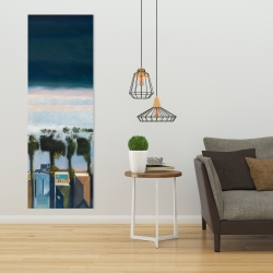 Canvas 20 x 60 - Bird's eye view of beach