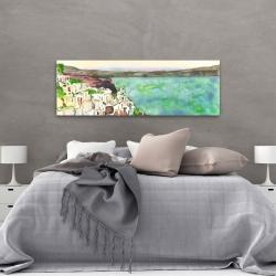 Canvas 20 x 60 - Landscape of crete