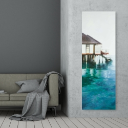 Canvas 20 x 60 - Dream travel