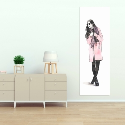 Canvas 20 x 60 - Woman spring look